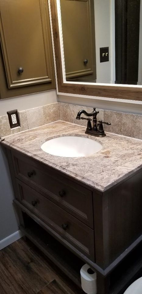 Toilets, Sinks, Faucets