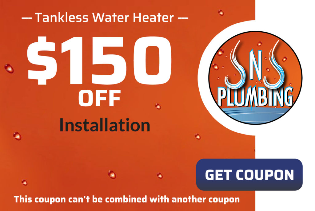 JNJ Tankless Water Heater Coupon