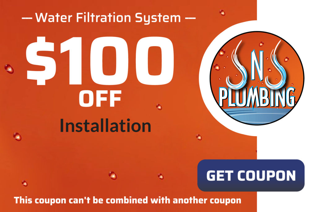 JNJ Water Filtration System Coupon