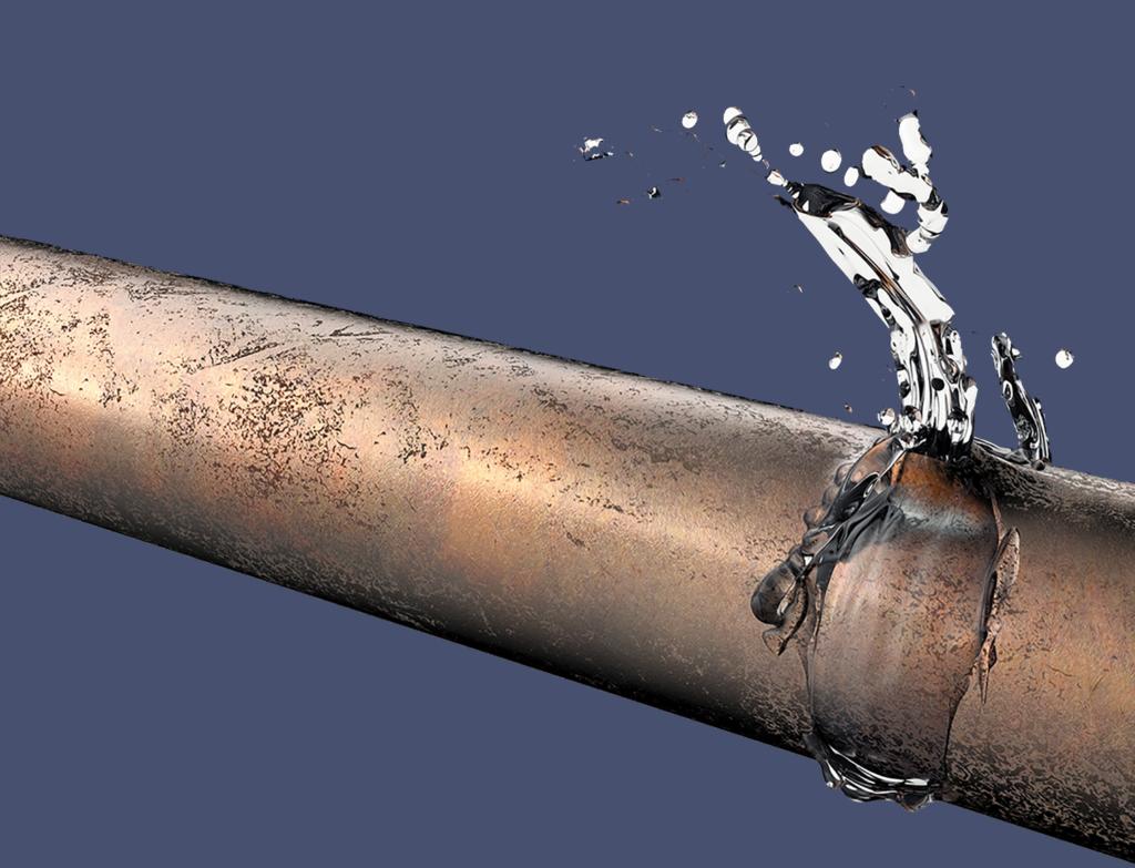 Water Line Repair Livingston