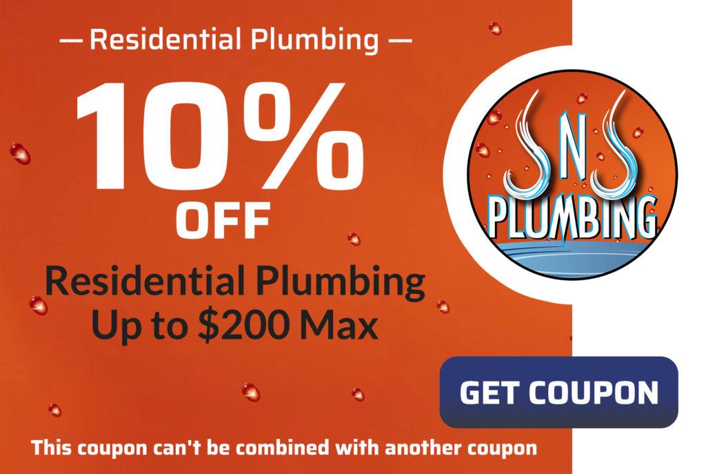 JNJ Residential Plumbing Coupon